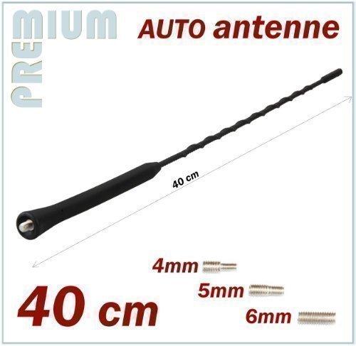 KFZ Antennenstab Universal 40cm Stab Auto Antenne M4 M5 M6 Gewinde Radio UKW Dachantenne FM