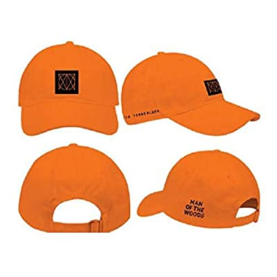 Justin Timberlake Man of The Woods Orange Dad Hat Baseball Hat
