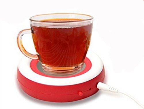 photo Wallpaper of Surborder Shop-Surborder Shop Coffee Mug Warmer Desktop USB Electronics Heat Cup-Red