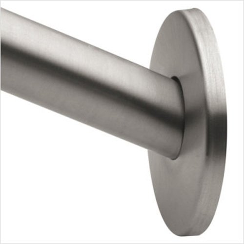 Moen CSR2145BN 5 Foot Curved Brushed