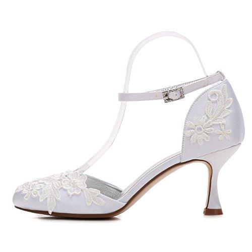 de de Ramillete de L Boda Flores Honor D17061 7 Tac Mujeres YC Zapatos Las Dama de de IwZqTZ