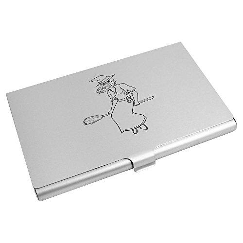 Holder Business On CH00007341 Wallet Card Azeeda 'Witch Broom' Card Credit RwBqFnSX