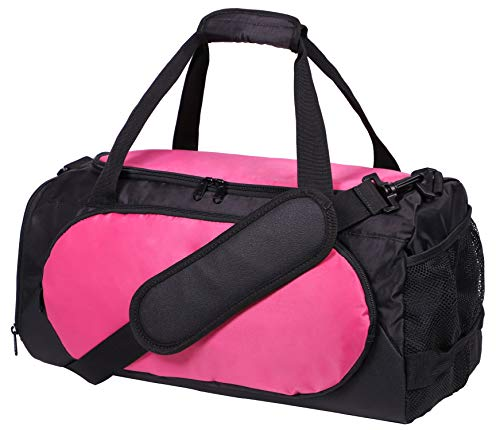 Galleon - MIER Small Duffel Bag Sports Gym Bag For Women And Girls With Shoes  Compartment 75a29470f2933