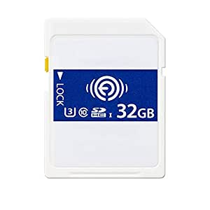 DFGdf Tarjeta de Memoria inalámbrica WiFi Tarjeta SD 32GB 64GB ...