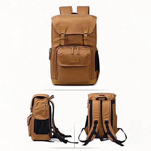 ZOMOM Camera Bag Outdoor Wear-Resistant Backpack Multifunctional Shoulder Bag Canvas Waterproof Photography Bag for Canon Nikon