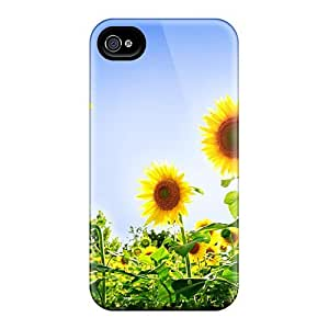 (BSnvDTC4798KpWEf)durable Protection Case Cover For Iphone 4/4s(gorgeous Sunflowers)
