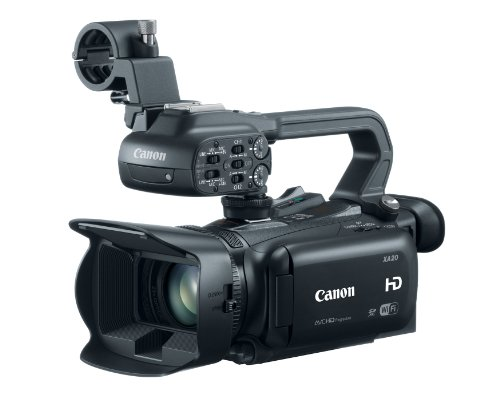 Canon XA20 Professional - Fast Is How Zoom
