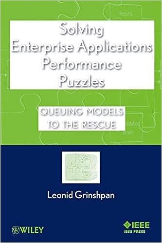 Solving Enterprise Applications Performance Puzzles Queuing