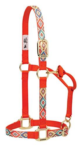 Weaver Leather Navajo Adjustable Nylon Horse Nylon Horse Halter, Average, ()
