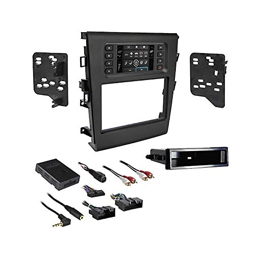 Metra 99-5841B Turbo Touch Premium Dash Kit with Integrated Touch Screen For 2015-UP Ford Fusion