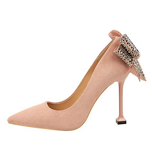 Rose Rose 36 Compensées 8 5 DS17175 Femme Sandales EU MiyooparkUK Miyoopark q4Yw00