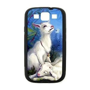 Artiodactyl Goat Grass Horns Animals Hot Fashion Design Case for Samsung Galaxy S3 I9300 (Laser Technology) Style 04