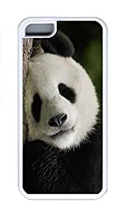 iPhone 5C Case, Personalized Custom Rubber TPU White Case for iphone 5C - Pander01 Cover