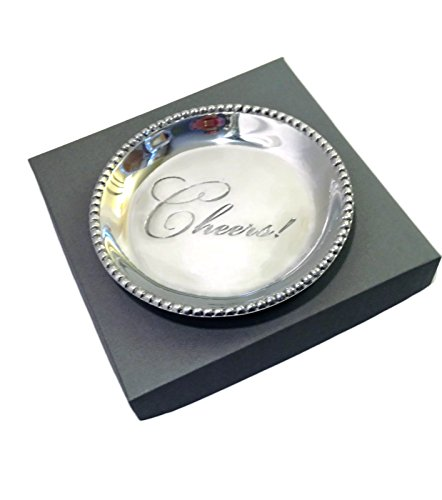 - Beatriz Ball, Giftables Organic Pearl Round Engraved Tray,