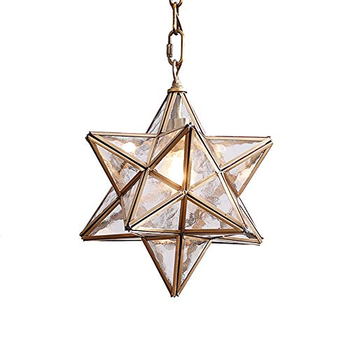 - KIRIN Moravian Star Pendant Light - 11.8