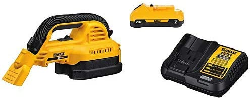 DEWALT DCV517B Baretool 20V MAX Cordless 1 2 gallon Wet Dry Portable Vac Kit Tool Only with DCB230C 20V Battery Pack