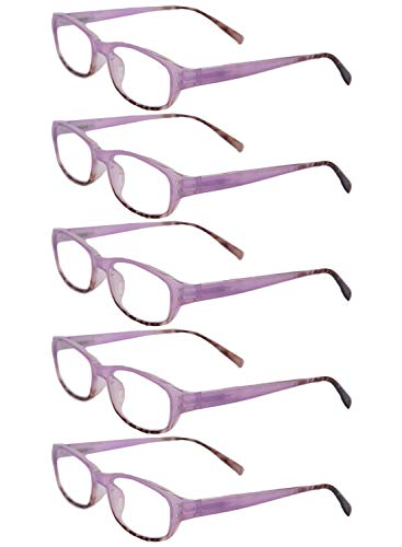 5 Unisexe 2 fashion 0 0 2 3 1 lecture retro 3 1 lunettes 0 full 5 pack frame Inlefen Violet 5 de 5 X6dHd