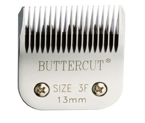 Geib Buttercut Stainless Steel Dog Clipper Blade, Size-3F, 1/2-Inch Cut Length by Geib Buttercut
