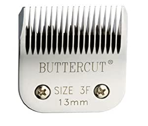 Geib Buttercut Stainless Steel Dog Clipper Blade, Size-3F, 1/2-Inch Cut Length