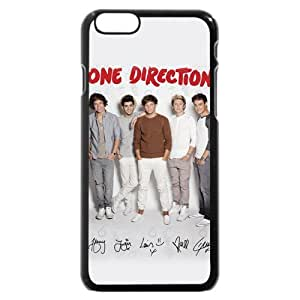 UniqueBox Customized Black Hard Plastic One Direction(1D) iPhone 6 4.7 Case, Only fit iPhone 6(4.7 Inch) wangjiang maoyi