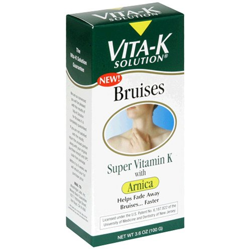 Vita-K Solution possible vitamine K à l'arnica, Bruises, 3,6 oz (100 g)