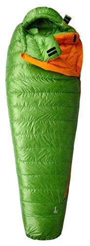 Mountain Hardwear Phantom Flame 15 Sleeping Bag - Cyber Green Long Right Zip