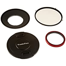 WonderPana 145 Essentials Kit - 145mm Filter Holder, Lens Cap and CPL Filter for the Canon 14mm Super Wide Angle EF f/2.8L II USM Lens (Full Frame 35mm)