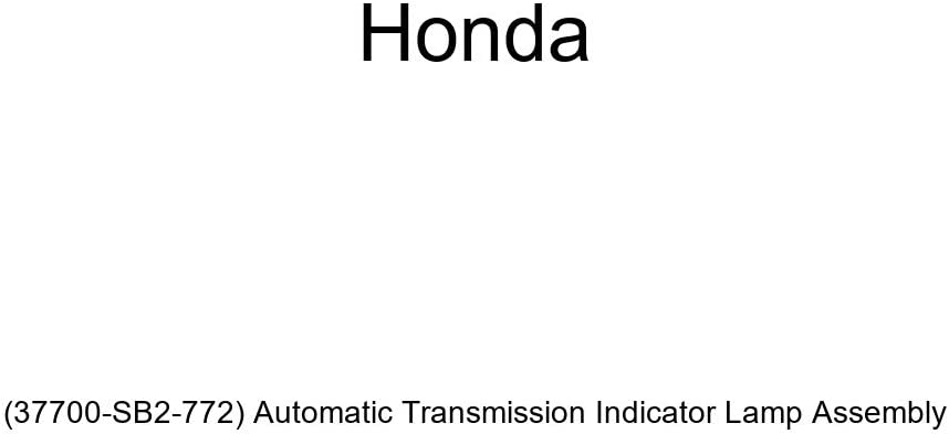 37700-SB2-772 Genuine Honda Automatic Transmission Indicator Lamp Assembly