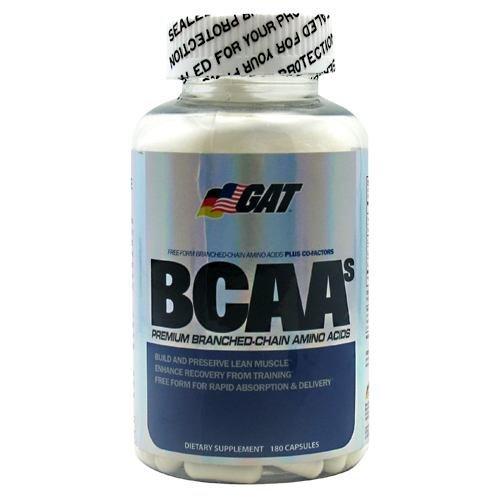 GAT BCAAs - 180 Capsules Bcaa 180 Capsules