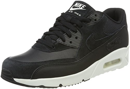 Nike Air Max 90 Ultra 2.0 LTR, Sneaker Uomo Nero (Black/Black-summit White)