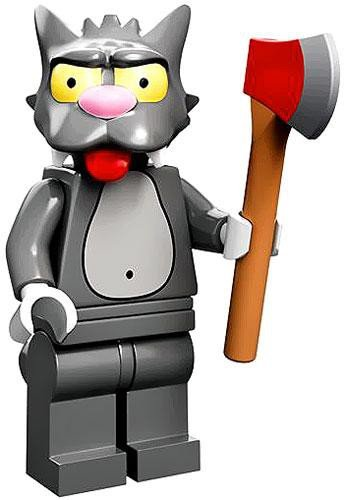 Lego 71005 The Simpson Series Scratchy Simpson Character Minifigures