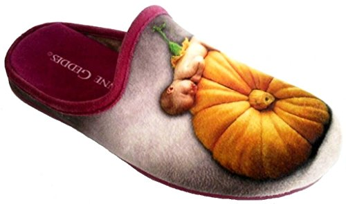 ANNE GEDDES , Chaussons pour femme rouge rouge 36