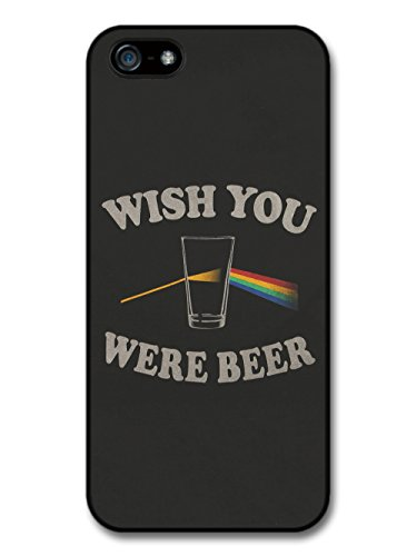Wish You Were Beer Pink Floyd Funny Quote hülle für iPhone 5 5S