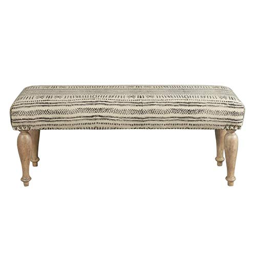 Pulaski Bench in Tribal Line Pattern