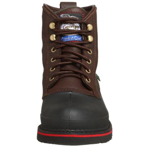 Georgia Boot Mens Muddog Impermeabile Punta Dacciaio Stivali Da Lavoro Cioccolato Fondente