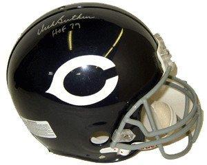 Dick Butkus Signed Autograph Chicago Bears Authentic TB Mini Helmet HOF79 ()