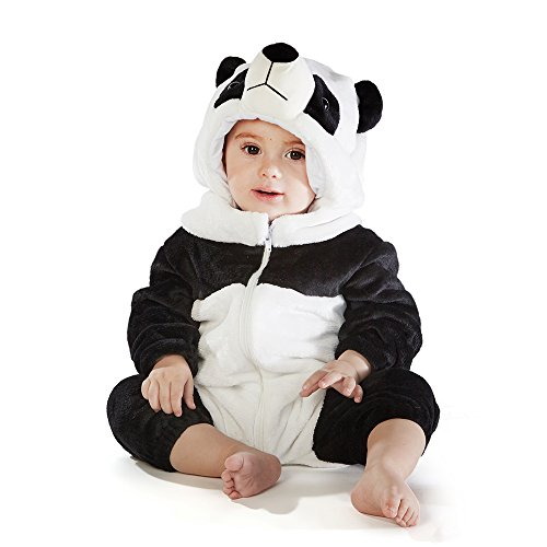 M&M SCRUBS Baby Panda Bear Costume (6-12 Small) -