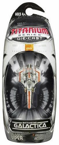 Hasbro Titanium Series Battlestar Galactica 3 Inch Classic Colonial Viper 34831