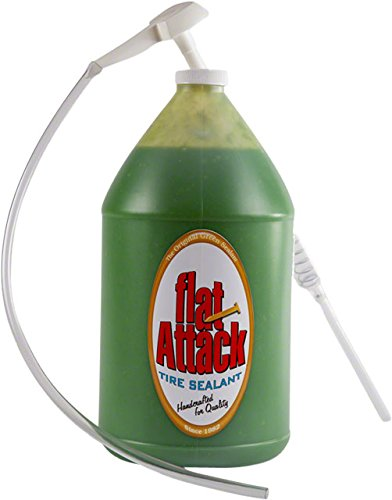 Flat Attack Tube sealant, 1 gallon bucket/pump