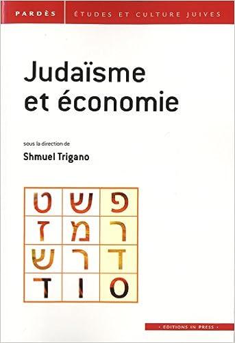 Livres gratuits Judaïsme et économie pdf epub
