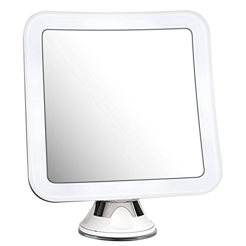 Battery Powered Bathroom Mirror Light: Charmax 7x Magnifying Lighted Makeup Mirror With Bag