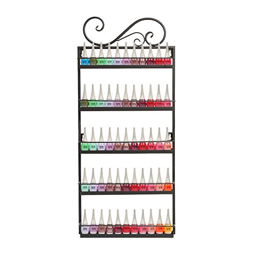 Dazone® Nail Polish Wall Mounted Rack Organizer Holds for sale  Delivered anywhere in USA