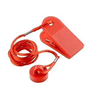 Satcl Universal-Laufband-Sicherheitsschlüssel, magnetischer Schalter, rund, rot