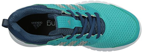 Adidas Madoru W - Zapatillas de Running Para Mujer, Color Azul/Plata/Blanco