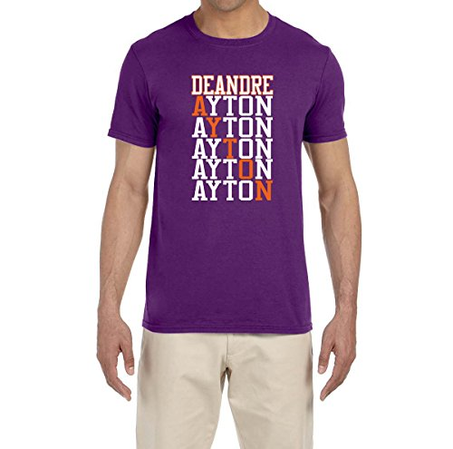 Deetz Shirts PURPLE Phoenix Ayton Text T-Shirt YOUTH MEDIUM (Steve Nash Youth Jersey)
