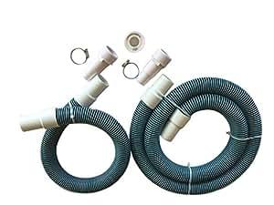 Fibropool - Manguera de repuesto para filtro de piscina profesional (1 1/2)