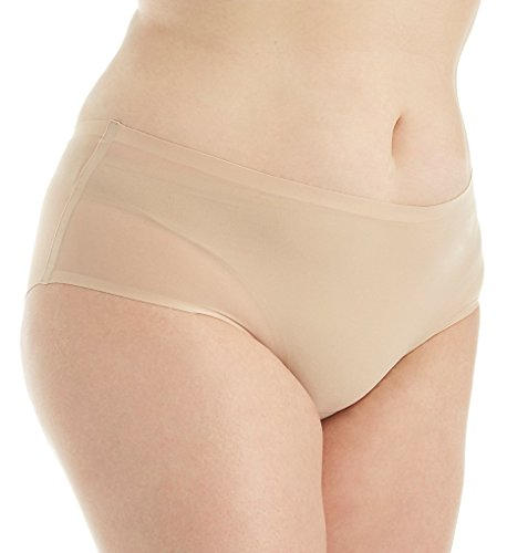 Chantelle Soft Stretch Seamless Hipster Plus Size Panty (1134) O/S/Ultra Nude