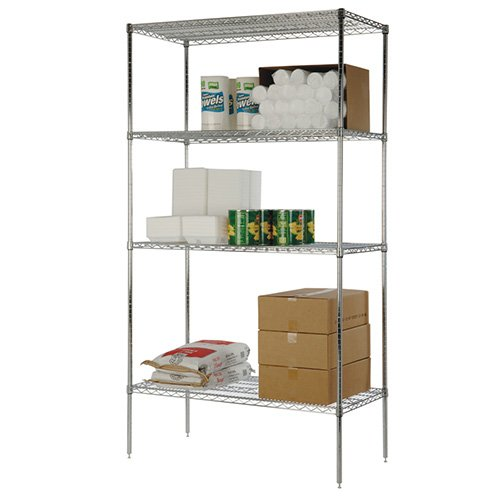 Value Series Medium Duty Wire Shelving - 48