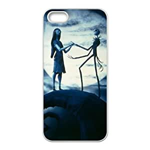 Nightmare Before Christmas iPhone 5 5s Cell Phone Case White DIY Gift zhm004_0476042
