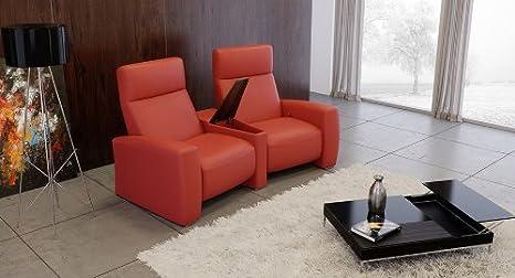 Cine en casa sofá cine Couch cine sofá piel sofá piel ...